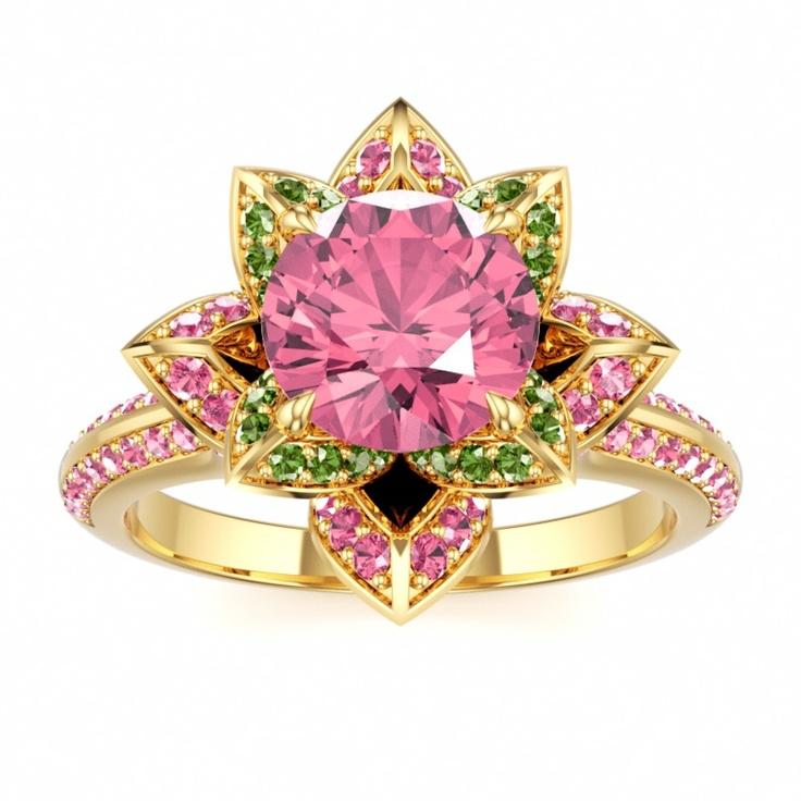 Lotus Ring Lotus Ring Lotus Ring: Engagement Ring