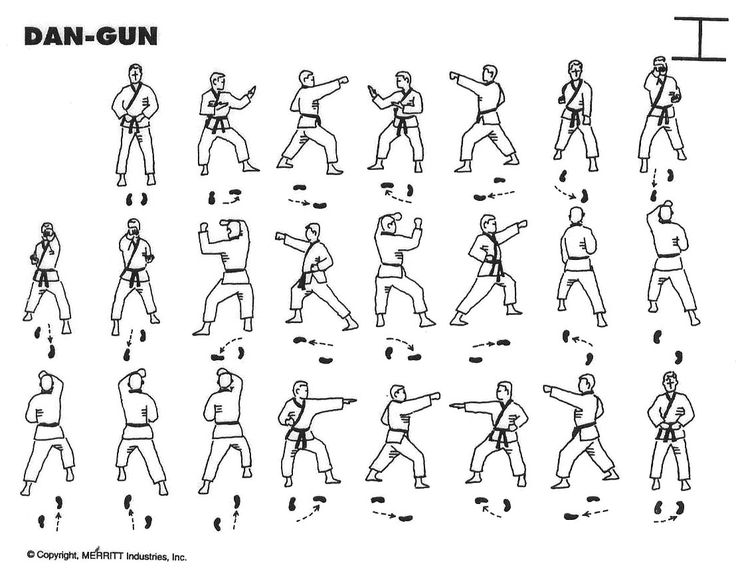 dan gun yellow belt form tae kwon do i