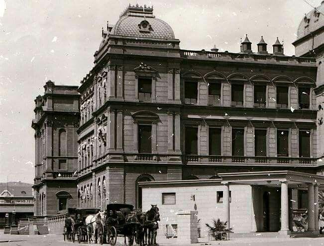 Foto's wat ek onlangs van Pretoria ontwikkel het. Met volle erkenning aan die Erfenis Stigting vir hulle glas negatiewe Raai dit is 1900-1920 periode.