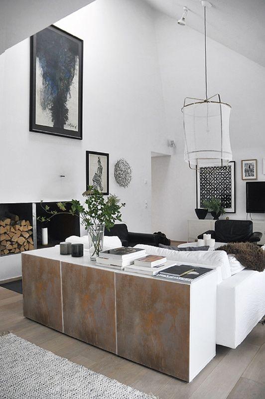 Besta deursticker hoog ROEST | Ikea BESTA | 123kea
