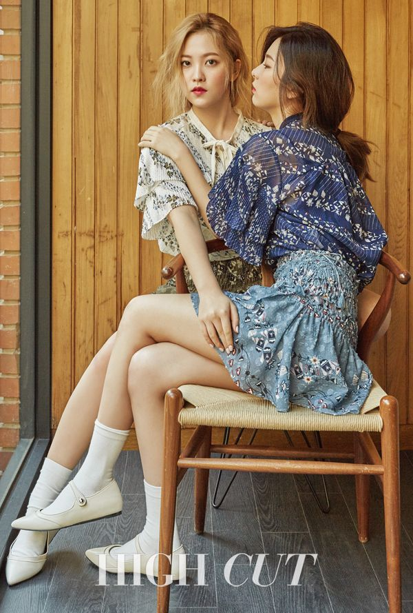 Yeri & Seulgi (Red Velvet) - High Cut Magazine vol. 171
