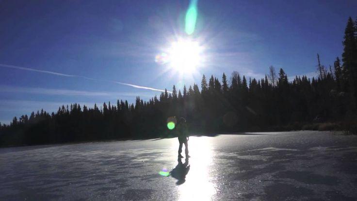 21st of October: Ice skating in Sweden