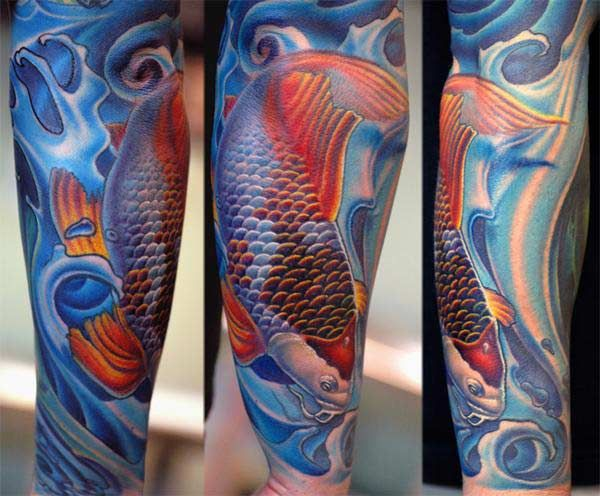 17 best images about tattoo on pinterest angel sleeve for Japanese koi names