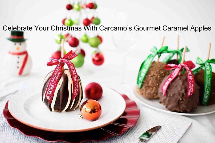 Let us be part of your Christmas celebration this year. Order now and beat the rush @ www.carcamoscaramelapples.com.au