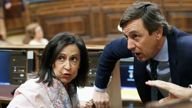 Hernando reprocha que el PSOE repruebe a Soraya: No es el camino se ponen al lado de Podemos y ERC