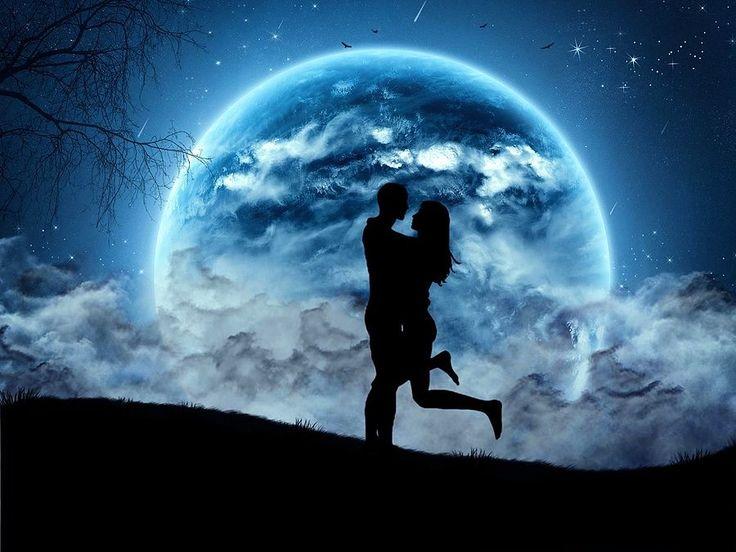 Когда двое смотрят на луну с разных концов земли, они непременно встречаются взглядами.