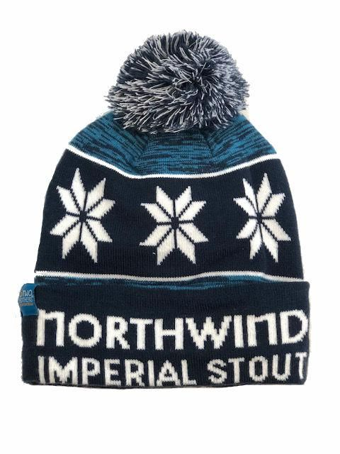 d714de67492 Old Man Winter has nothing on this cool beanie. This custom made pom hat  will blow into your life and onto your noggin