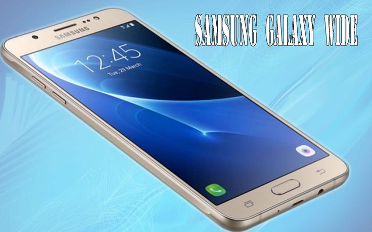 Samsung Galaxy Wide Full Specifications And Price: Specs and price quite...