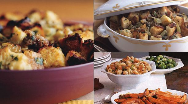 Herbed Stuffing With Bacon And Leeks Recipes — Dishmaps