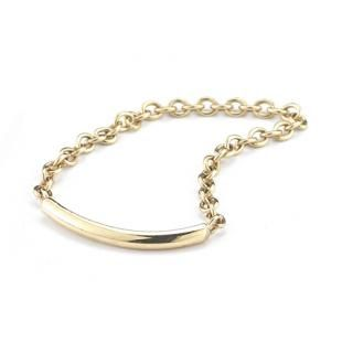 14K Chain & Band Ring