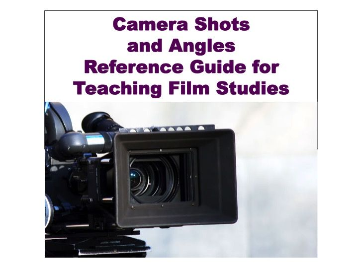 Students love when teachers meaningfully incorporate films into class instruction. Film Studies has a vocabulary unique to itself, and when students are instructed in the appropriate terminology and symbols of meaning conversations can come alive!   This guide provides explanations for several common camera shots and angles which create meaning on the screen.   My film students used this an analysis tool for analyzing frames, scenes, or whole films.
