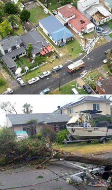 Trwa usuwanie skutków tornada, które uderzyło w Sydney. Straty wyceniono na 140 mln zł. http://tvnmeteo.tvn24.pl/informacje-pogoda/swiat,27/trwa-usuwanie-skutkow-tornada-ktore-uderzylo-w-sydney-straty-wyceniono-na-140-mln-zl,188725,1,0.html