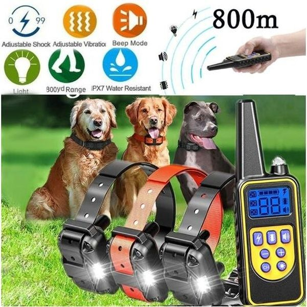 2018 Original Safety Electric Dog Training Collar Rechargeable