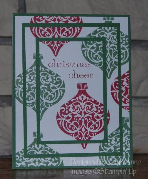 Triple Time Ornaments by leibetty - Cards and Paper Crafts at Splitcoaststampers