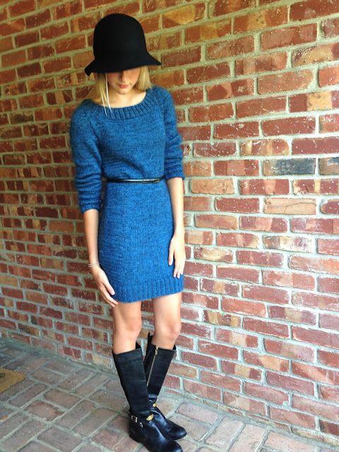 Knitionary: Langestt dress