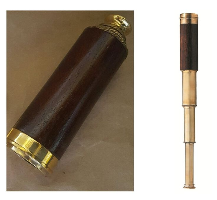 Telescope - OFFICER'S SPYGLASS - Brass