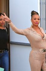 VIVICA FOX Leaves a Studio in Los Angeles