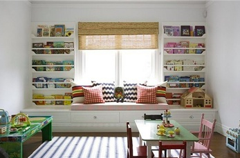 Great storage for kids room