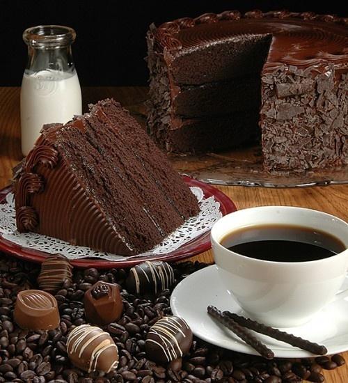 Chocolate, chocolate, chocolate!