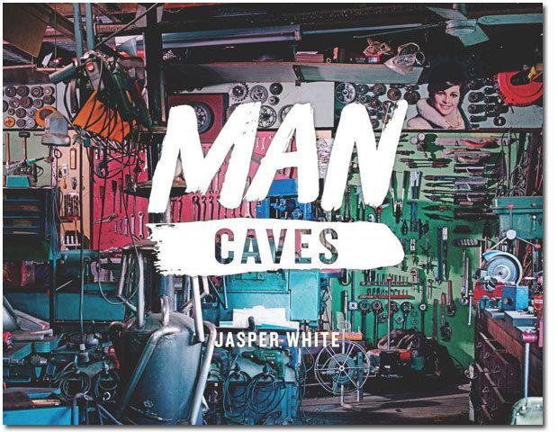 Man Caves, Book   #fathersdaygifts #giftsformen #mancave
