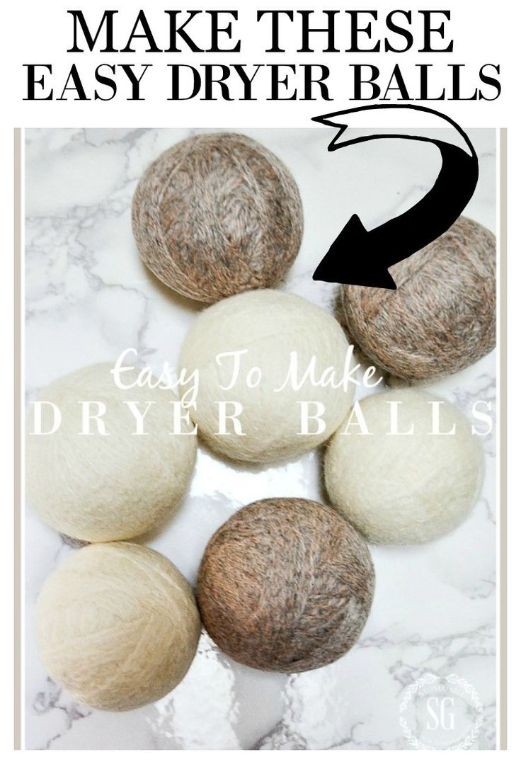 how to make wool balls