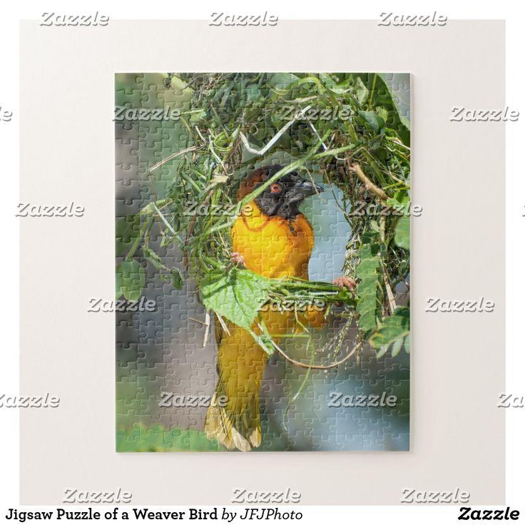 Jigsaw Puzzle of a Weaver Bird
