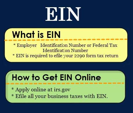 federally assigned employer id# ein Obtain your federal employer number by completing our online ein application form getting an employer identification number has never been easier the 1 day turnaround in getting my employer identification number was wonderful.