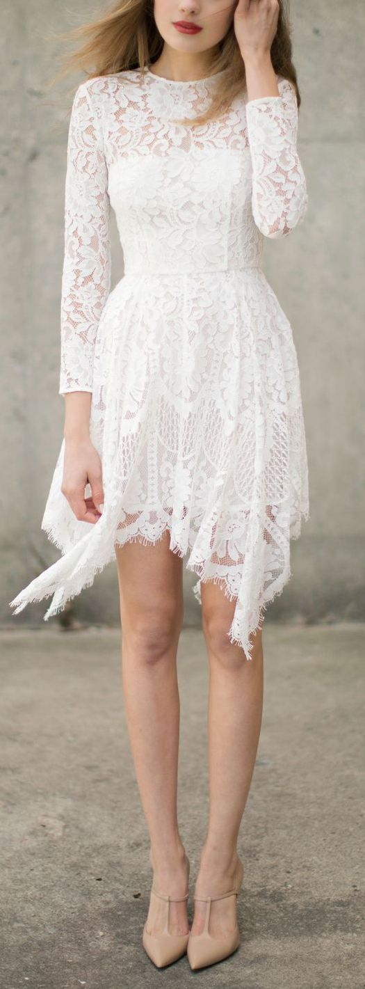 Cute reception dress