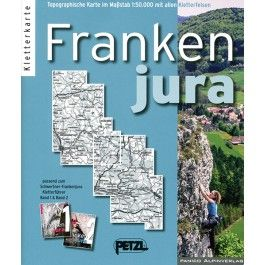 Kletterkarte Frankenjura - -- tmms-shop - Kletterführer und mehr