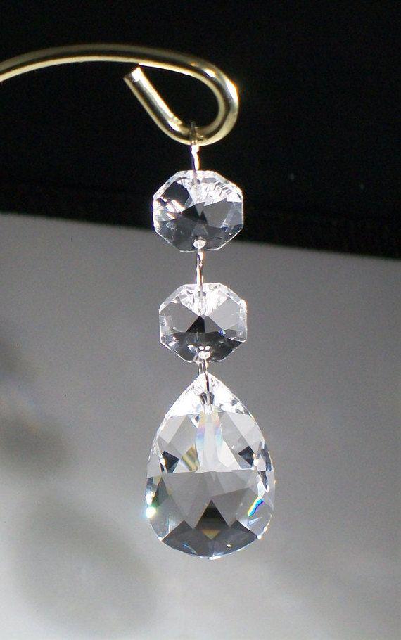 Rear View Mirror Car Charm Hanging Crystal By Weddingbridaldecor