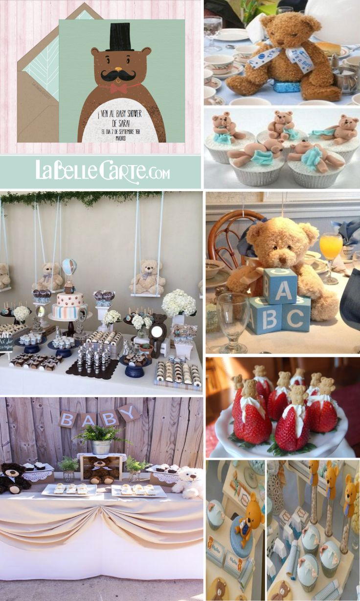 264 Best Teddy Bear Baby Shower Images On