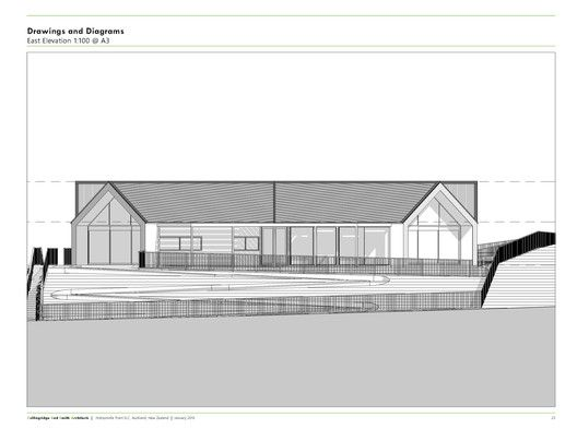 Hobsonville Point Early Learning Centre,East Elevation