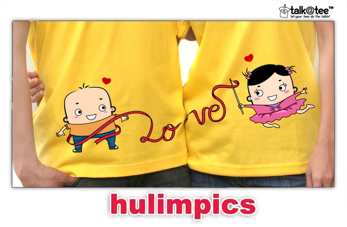Couple Shirt: Hulimpics | Let your tees do the talkin' | T Shirt Design