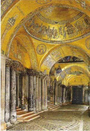 Intérieur basilique Saint Marc