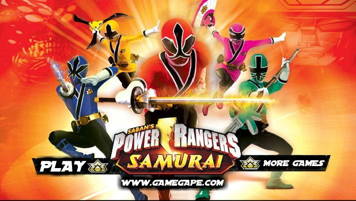 Power Rangers Samurai Bow game online
