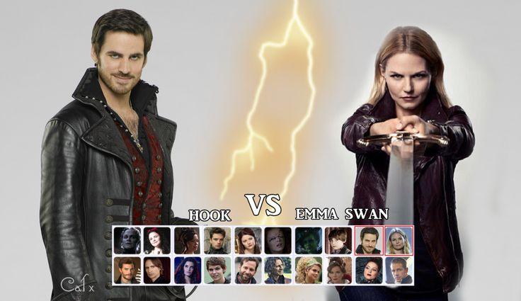 Hook vs Emma by VincentSharpe.deviantart.com on @deviantART
