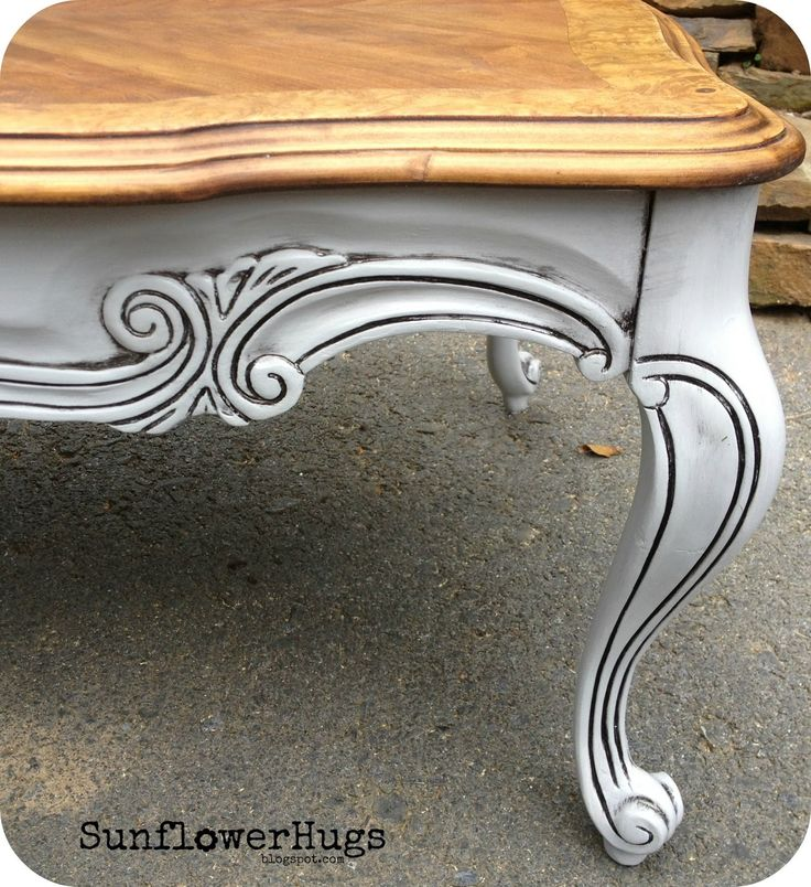 SunflowerHugs: 5' Long French Country Coffee Table