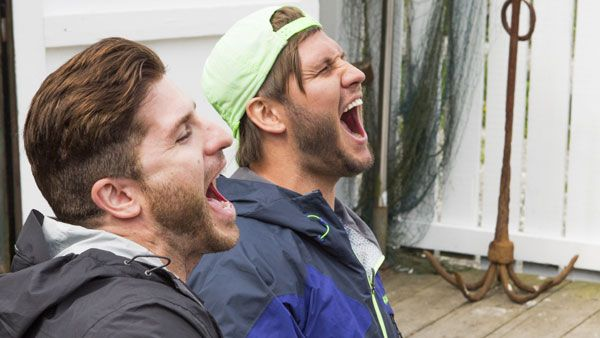 Having fun kept #JetandDave going on #RaceCDA.