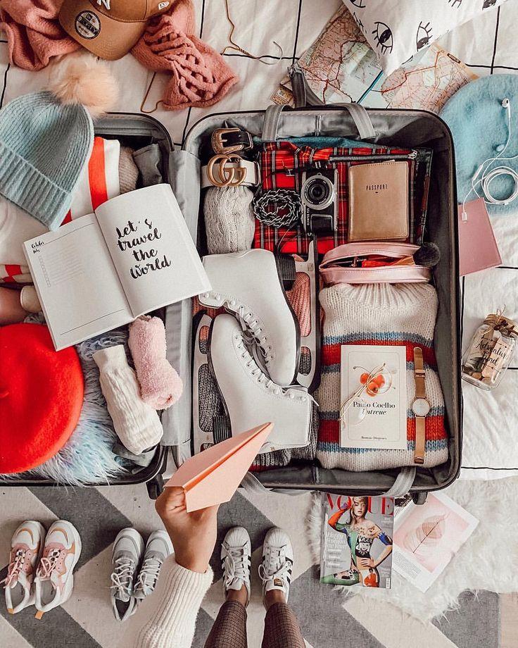 accessoires voyage MODE   INSPO   VOYAGES sur Instagram: «Même merde jour différent 🙈 La valise …
