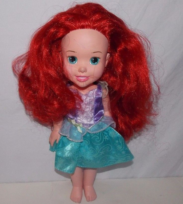 "My First Disney Princess Ariel Toddler Doll 13"" Tollytots Little Mermaid  