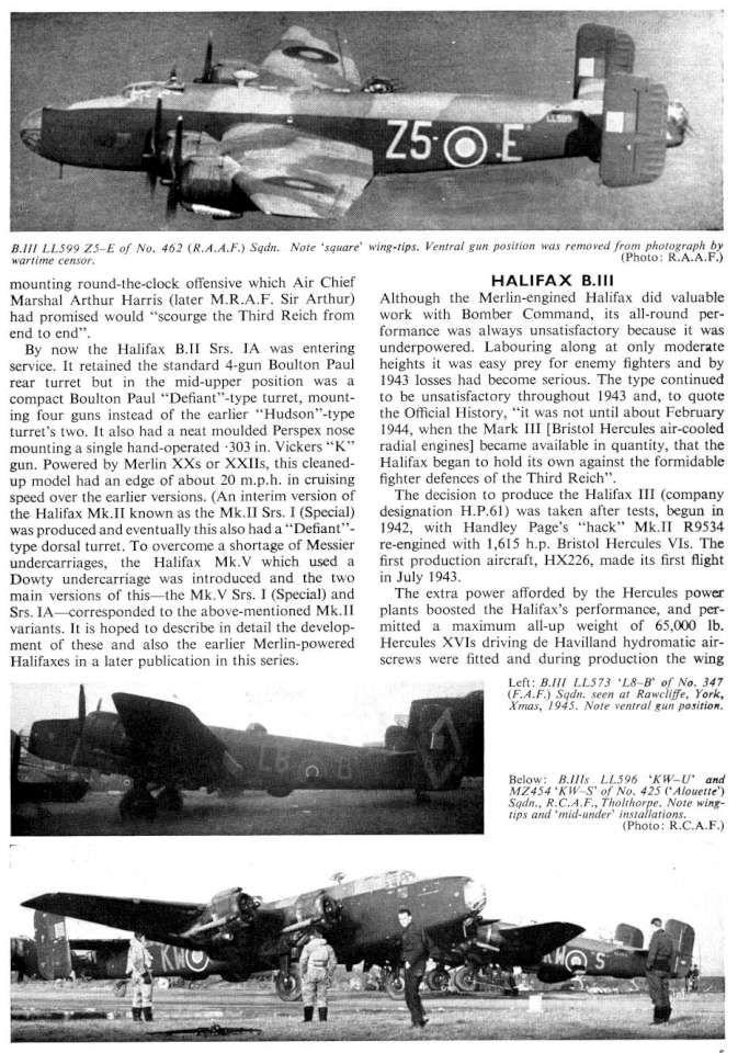 Handley-Page Halifax (11) Page 05-960