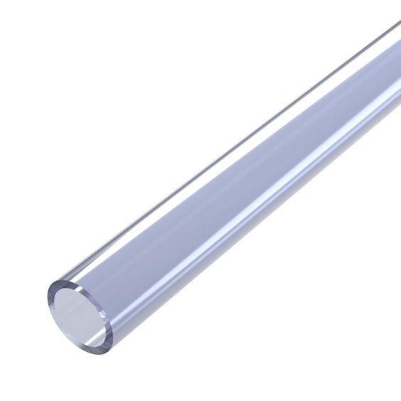 "FORMUFIT PVC Pipe Clear / 5 ft. 1/2"" Schedule 40 Furniture Grade PVC Pipe"