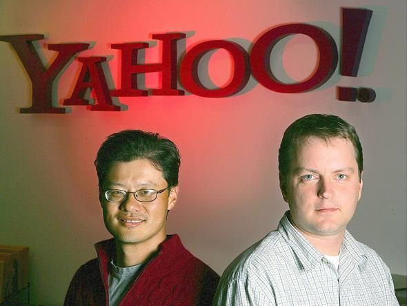 David Filo, Jerry Yang ed il loro Yahoo!