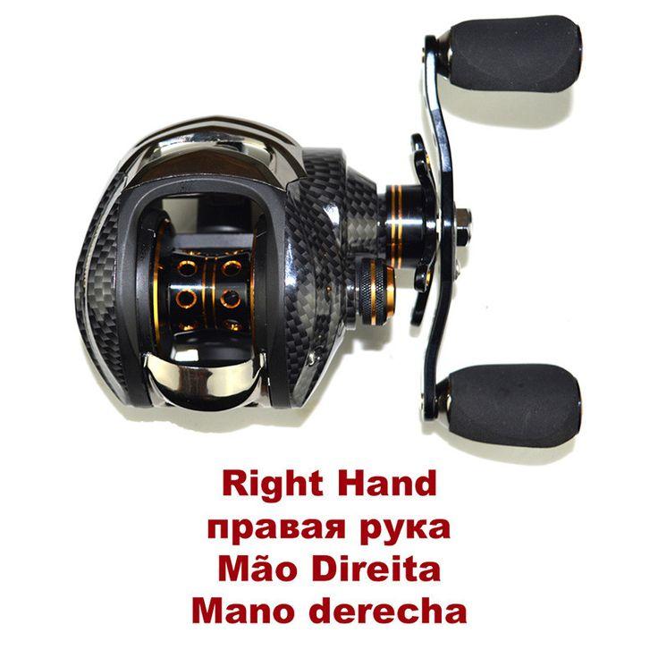 SHISHAMO LB200 Baitcasting Reel 18 Ball Bearings Carp Fishing Bass Fishing Left Handed Right Hand Bait Casting