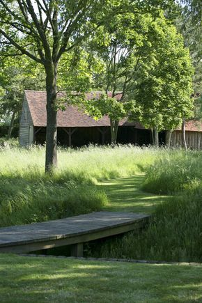 What is it about paths mown through long grass that makes them so enticing?