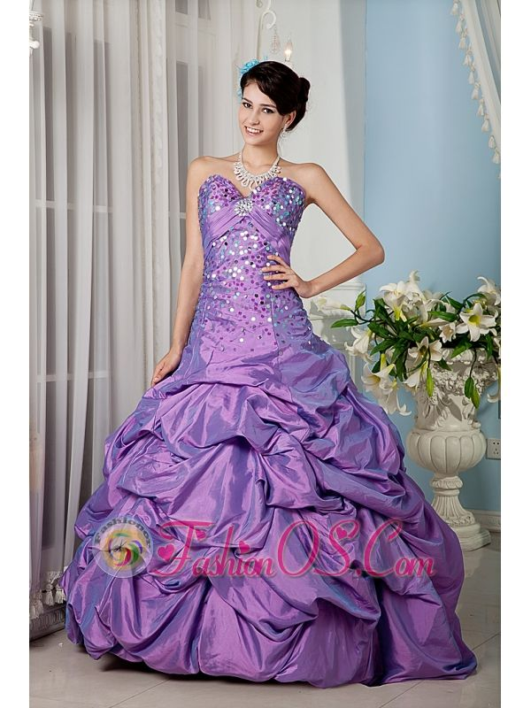 10 best Beading Inexpensive Ruffles Lavender 2013 Quinceanera Dress ...