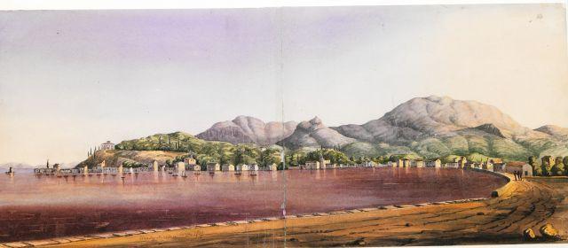 Άποψη της Γαρίτσας, Κέρκυρα 1839. - Sketches of the Ionian Islands - ME TO BΛΕΜΜΑ ΤΩΝ ΠΕΡΙΗΓΗΤΩΝ - Τόποι - Μνημεία - Άνθρωποι - Νοτιοανατολική Ευρώπη - Ανατολική Μεσόγειος - Ελλάδα - Μικρά Ασία - Νότιος Ιταλία, 15ος - 20ός αιώνας