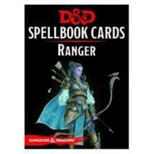 D&D Spellbook Cards Ranger Revised