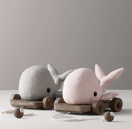 Chambray Pull Toy | Plush Gifts | Restoration Hardware Baby & Child