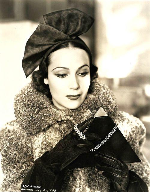 : Dolores Del Rio, 1936, A.L. Whitey Schafer, vintage, actress.